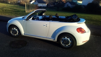 Coccinelle cabriolet origine France sort de VW