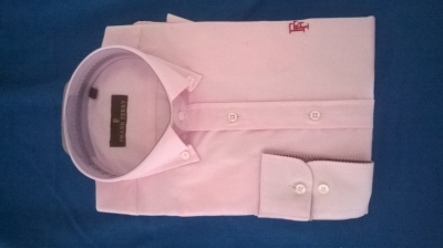 chemise homme blanche  Manoukian (L) ou rose Frank Ferry (M)