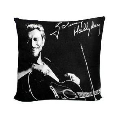 Coussin Serigraphié Johnny Hallyday