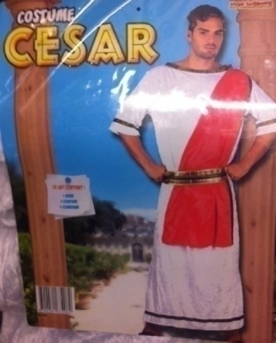 Costume Adulte Cesar