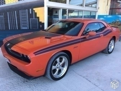 Dodge Challenger R/T HEMI Orange 2009