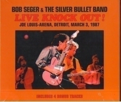 2 cd Live Knock out 1987 import bob seger - silver bullet band