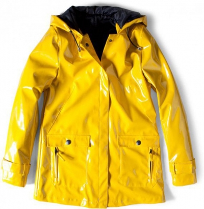 cire vinyl jaune pull and bear