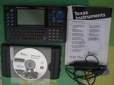 Calculatrice Texas Instruments  TI-92 Plus
