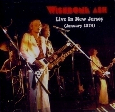 cd Live in New Jersey Live 1974 Import Wishbone Ash